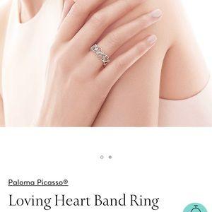 Tiffany ring - size 7-7.5